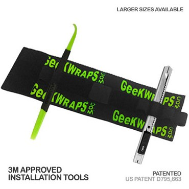 Tool Handy Wrist Band with Wrap Wand and Knife