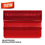 Hydro Edge 4 Inch Red Stroke Squeegee